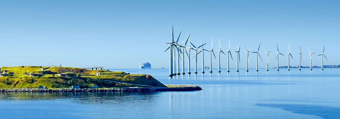 Offshore wind turbines, land and ship