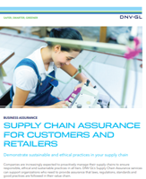 Supply Chain Assurance for Customers and Retailers